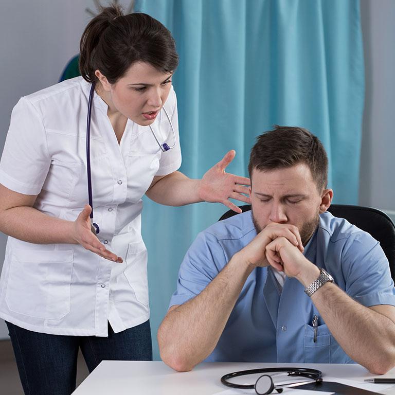 介護士が感じる職場のストレス